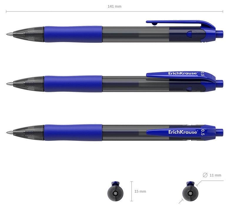 ErichKrause Gel Pen Smart-Gel 0.5mm Blue