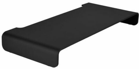 SilverStone MR01B Aluminium Monitor Riser Black