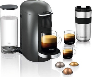 Krups Nespresso Vertuo Plus XN902T Coffee Machine Titan