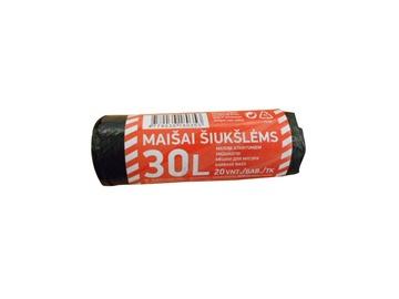 MAISI ATKRIT. HDPE 30L 8MK 20GAB