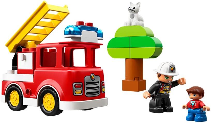 Konstruktor LEGO® Town 10901 Tuletõrjeauto