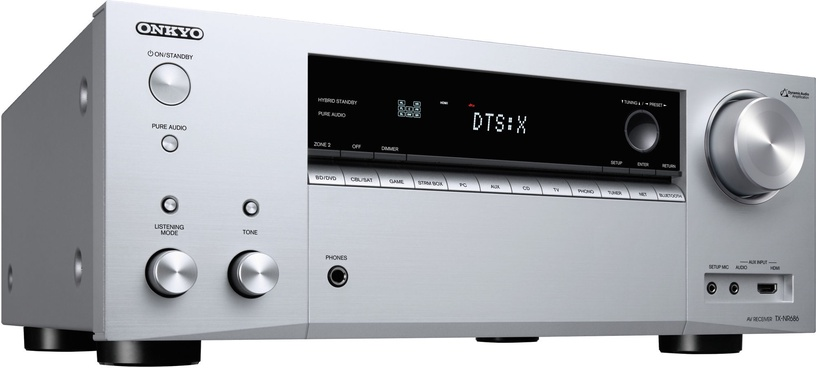 A/V vastuvõtja Onkyo TX-NR686 Silver