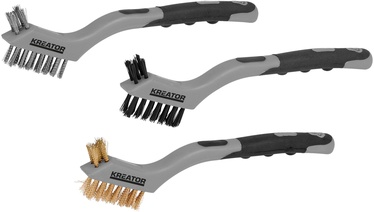 Kreator KRT561101 PP Wire Brush Set 3pcs