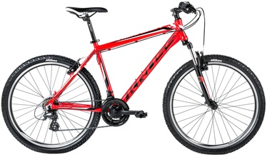 Dviratis Kross Hexagon X2 III L Red/Black