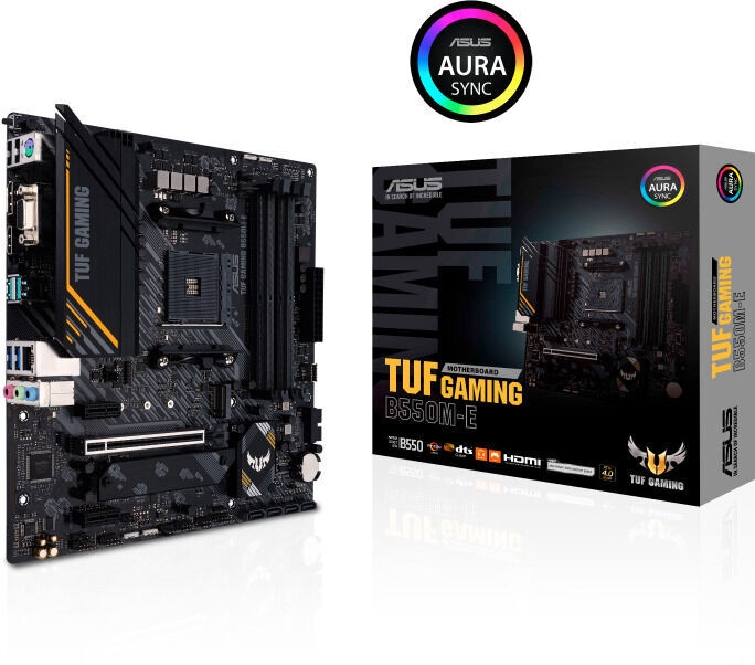 Mātesplate Asus TUF Gaming B550M-E