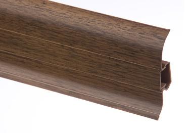 Põrandaliist PVC Premium MAT106 22x59mm 2,5m