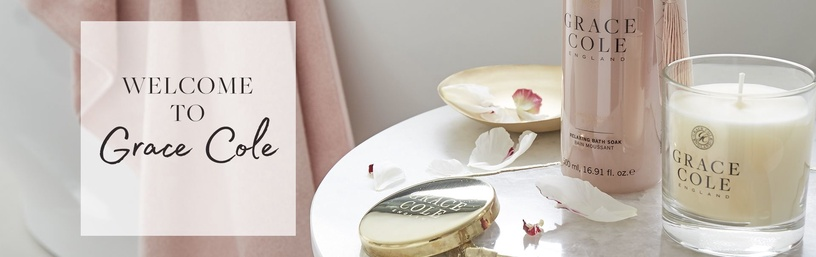 Grace Cole Fragrant Candle 200g Vanilla Blush & Peony