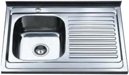 Мойка Tredi DM-8060 Stainless Steel Right 800x600mm