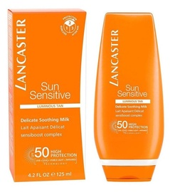 Lancaster Sun Sensitive Delicate Softening Milk SPF50 125ml