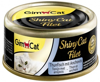 Gimborn ShinyCat Tuna With Anchovies 70g