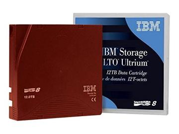 Лента архивирования данных IBM LTO8 medium 30 TB, 30 TB