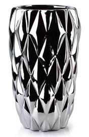 Mondex Basile Silver Vase 25cm