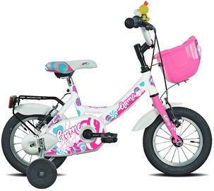 "Vaikiškas dviratis Esperia Mascotte 9900, baltas, 12"""