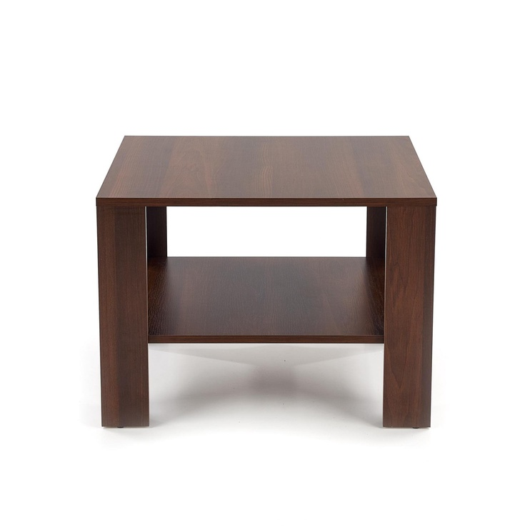 Kafijas galdiņš Halmar Kwadro, valriekstu, 700x700x530 mm