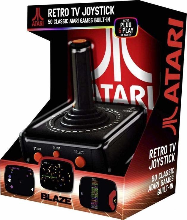Atari Retro TV Plug and Play Joystick incl. 50 Classic Games