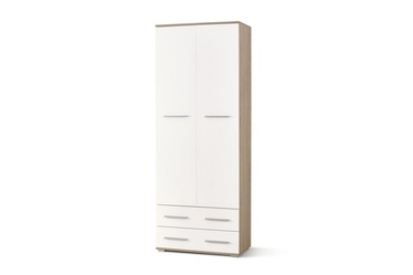Halmar Lima Reg-2 Sonoma Oak/Glossy White