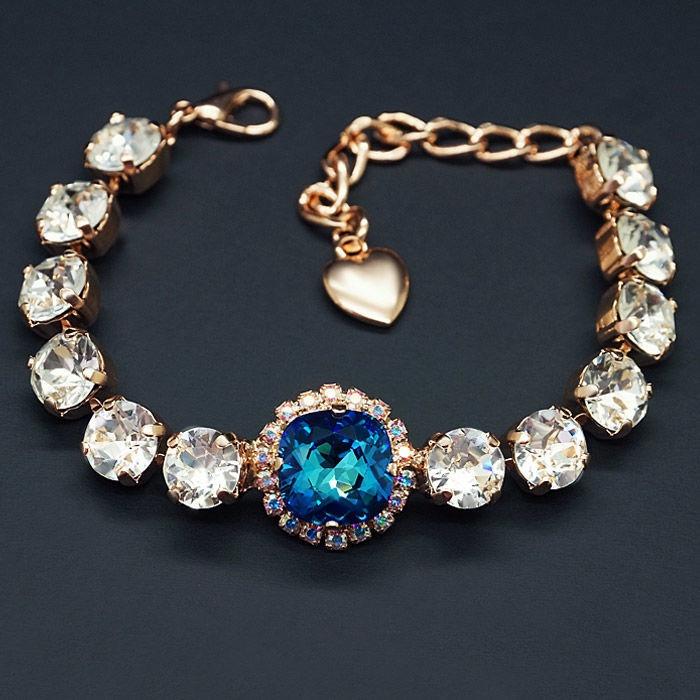 Diamond Sky Bracelet Glare III With Crystals From Swarovski
