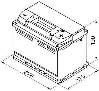 Аккумулятор Bosch S4, 12 В, 74 Ач, 680 а