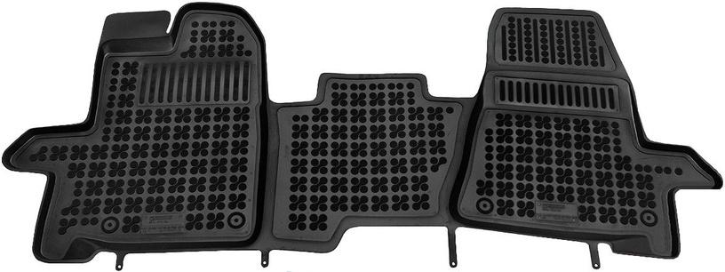 Резиновый автомобильный коврик REZAW-PLAST Ford Transit Custom 2013 Front, 1 шт.