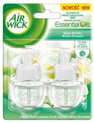 Освежитель воздуха Air Wick White Flowers Double Refill, 2x19 мл