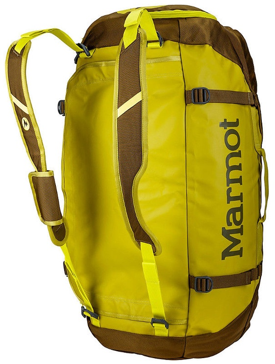 Marmot Long Hauler Duffle Bag 50L Dark Citron/Dark Olive
