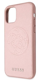 Guess Saffiano for Apple iPhone 11 Rose