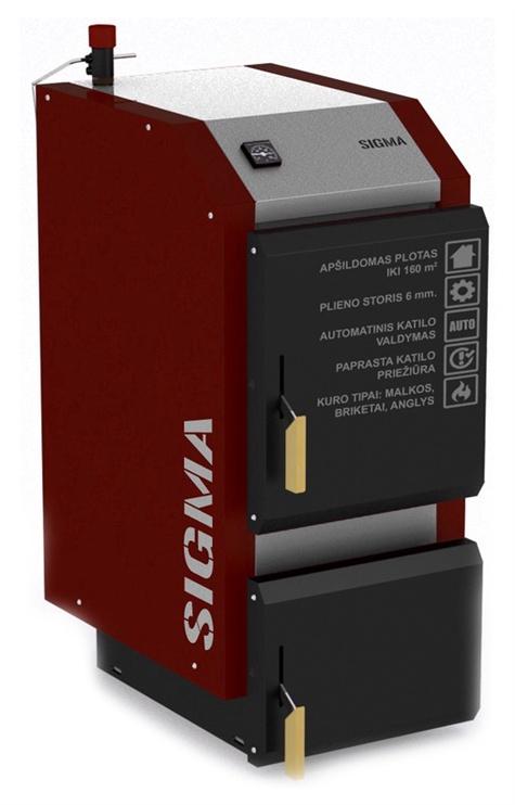 Kietojo kuro katilas Antara Sigma, 16 kW