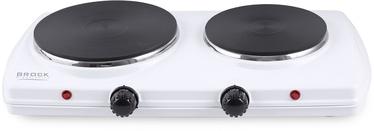 Minipliit Brock Electric Double Hotplate, 1500 W, valge