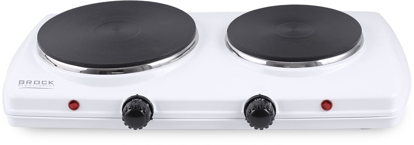 Brock Electric Double Hotplate 1500W