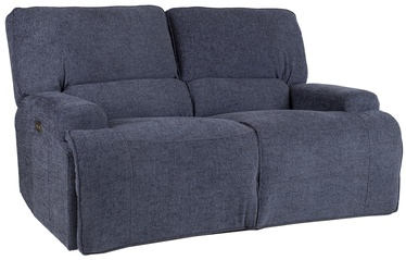 Home4you Sofa Marcus 2 Grey/Blue