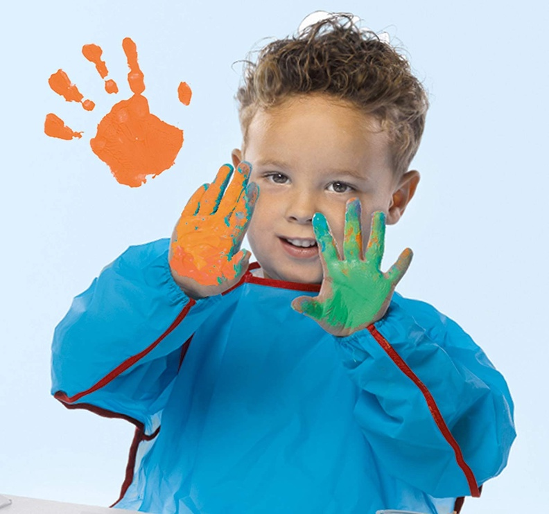 SES Creative My First Fluffy Fingerpaint 4pcs 14441