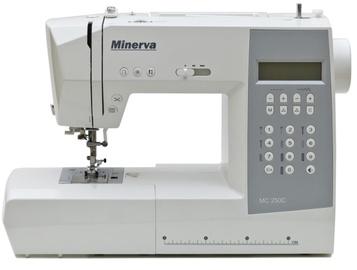 Šujmašīna Minerva MC250С, datorizēta