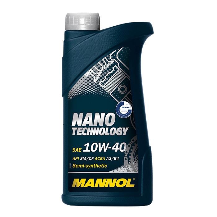 Automobilio variklio tepalas Mannol Nano, 10W-40, 1 l