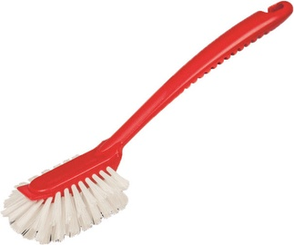 Arix Fantailed Dish Brush Red