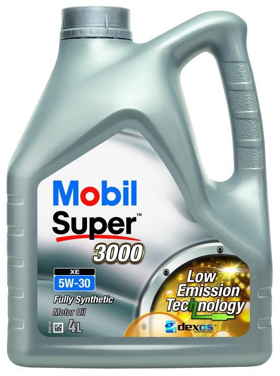 Motoreļļa Mobil Super 3000 XE 5W/30 Engine Oil 4l