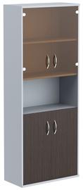 Skyland Imago Office Cabinet CT-1.4 Wenge Magic/Metallic