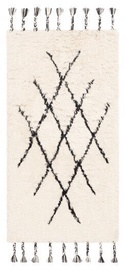 Ковер FanniK Artemis White/Black, белый/черный, 70 см x 140 см