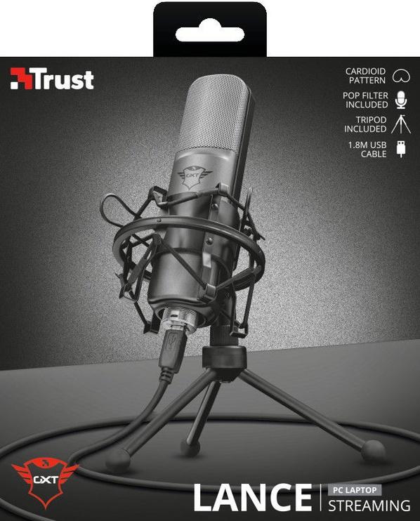 Микрофон Trust GXT 242 Lance Streaming Microphone