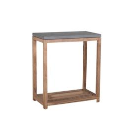 Plaukts Home4you Sandstone Gray, 57x28x65 cm