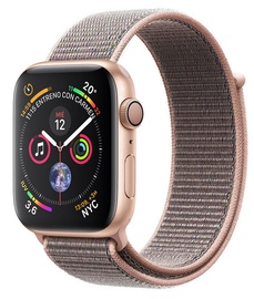 Apple Watch Series 4 44mm Gold Aluminum Case with Pink/Sand Loop