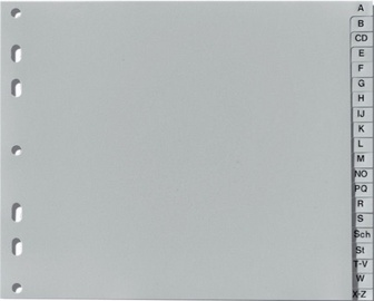 Herlitz Index 10843514 A-Z Grey