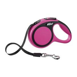 Поводок Flexi 28018, черный/розовый, 3 м
