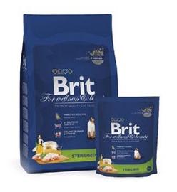 Sausas ėdalas sterilizuotoms katėms Brit Premium, su vištiena, 1.5 kg