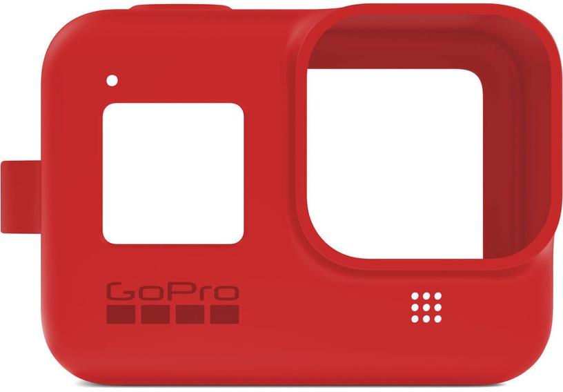 GoPro Sleeve + Lanyard For Hero8 Red