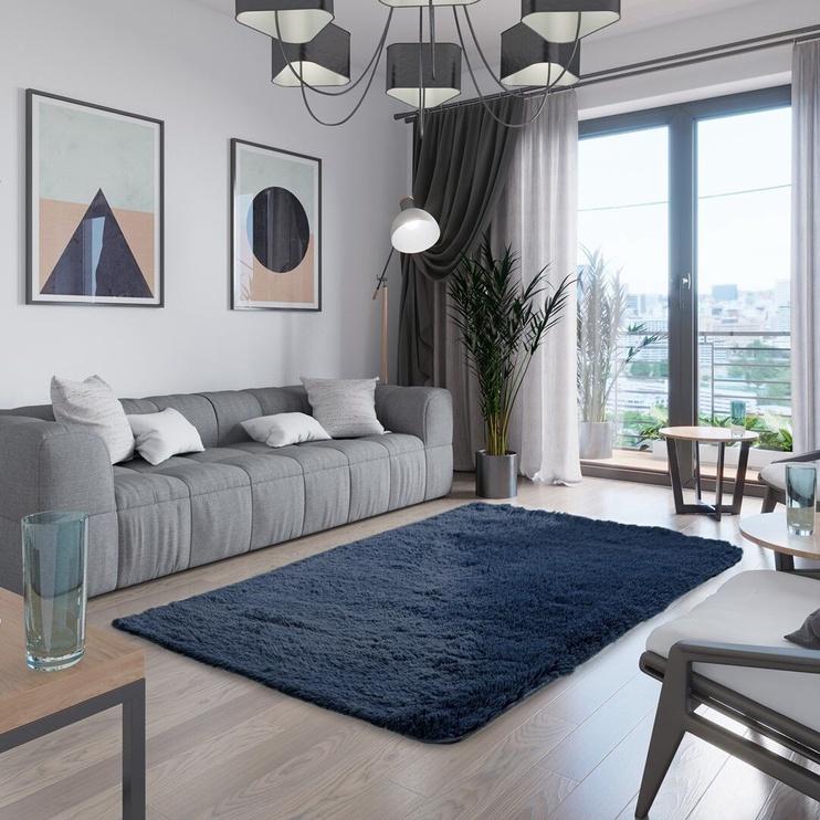 Paklājs AmeliaHome Karvag, zila, 280x200 cm