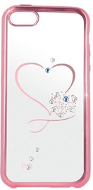 Beeyo Heart Back Case For Samsung Galaxy A5 A510 Transparent/Pink