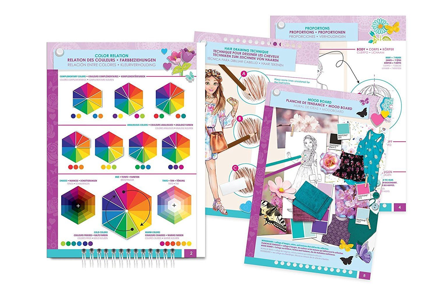 1a Farben.Make It Real Blooming Creativity Fashion Design Sketchbook