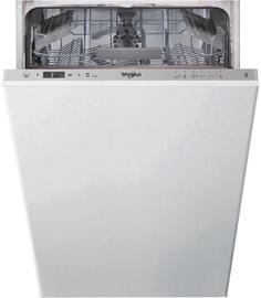 Įmontuojama indaplovė Whirlpool Wsic 3M17 Inox