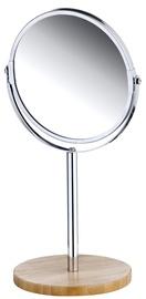 Axentia Round Mirror Bamboo