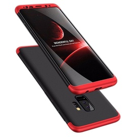 Hurtel 360 Protection Full Body Cover For Samsung Galaxy S9 Plus Black/Red